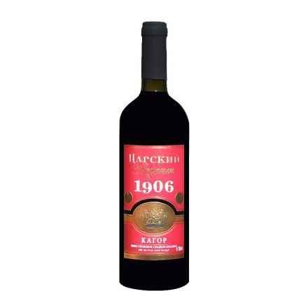 Вино красное сладкое Царский рецепт Кагор