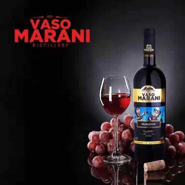 Вино сухое красное VASO MARANI Mukuzani Red