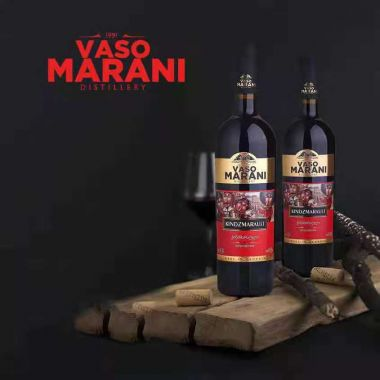 Вино красное полу-сладкое VASO MARANI Kindzmarauli