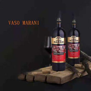Вино красное полу-сладкое VASO MARANI Alazani Valley
